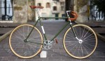 Bicicleta artesanal italiana clasica